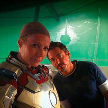 Robert Downey Jr. y Gwyneth Paltrow