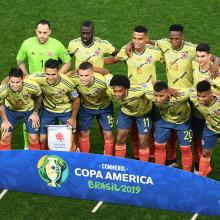 Selección Colombia en la Copa América