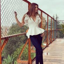 Carolina Cruz es una exitosa modelo y empresaria