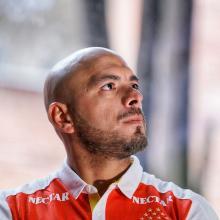 Omar Pérez es uno de los jugadores más queridos por la hinchada de Santa Fe