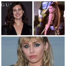 Lana del Rey, Ariana Grande y Miley Cyrus