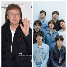 Paul McCartney y BTS