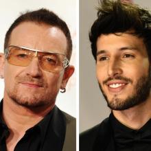 Bono y Sebastián Yatra