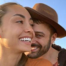 Carolina Guerra y David Reuben