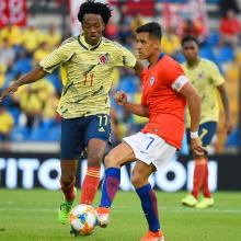 Partido Colombia ante Chile