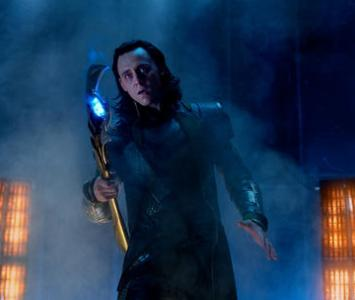 Tom Hiddleston como Loki en 'Avengers'