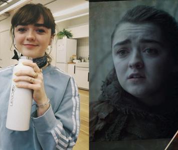La actriz que le dio vida a Arya Stark en la serie, se tomará un descanso de la actuación después del final.