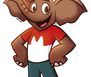 Elefante Melvin de los Choco Krispis