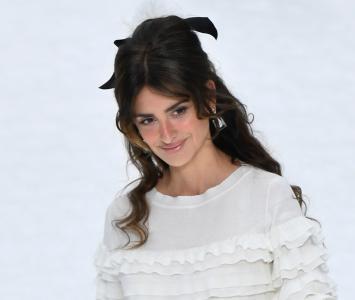 Penélope Cruz en desfile de Chanel