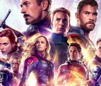 Imagen publicitaria de Avengers: Endgame