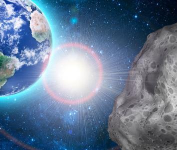 Asteroide pasa cerca a la tierra