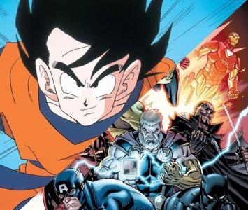 Dragon Ball y Marvel Comics