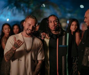 J Balvin y Chris Brown