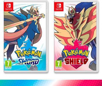 Videojuego Pokémon Escudo y Espada