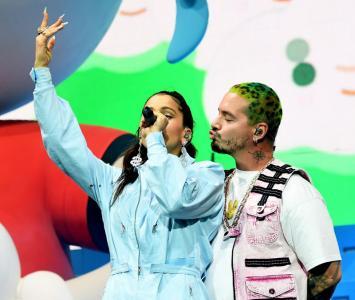 Rosalía y J Balvin