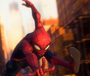 Spider-Man versión Pixar
