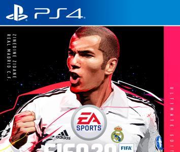 Zidane en la portada de Fifa 20