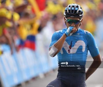 Nairo Quintana - etapa 18 del Tour