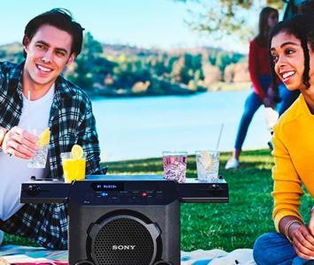 Parlante Sony GTK-PG10 para fiestas al aire libre