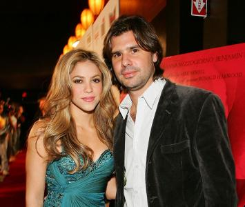 Shakira y Antonio de la Rúa fueron pareja por más de 11 años