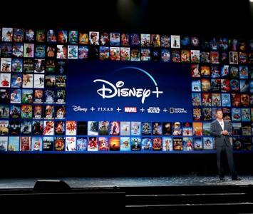 Presentación de contenidos de Disney Plus