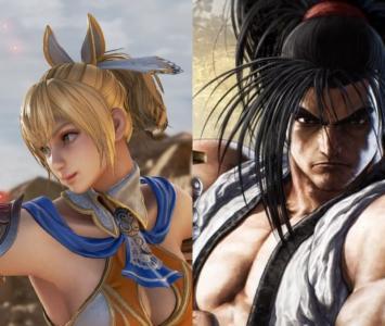 Haohmaru y Cassandra, nuevos peleadores de Soul Calibur VI