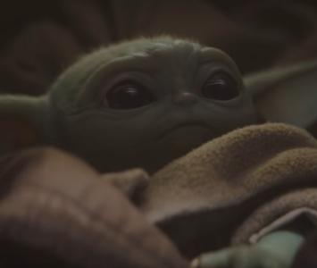 'Bebé Yoda' en 'The Mandalorian'