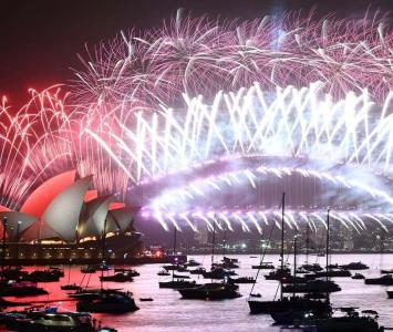Año Nuevo en Sídney, Australia