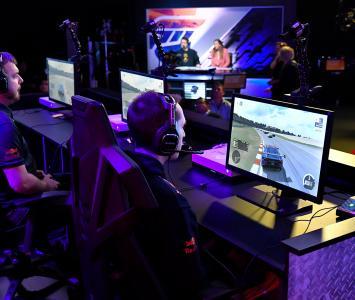 Gamers en competencia