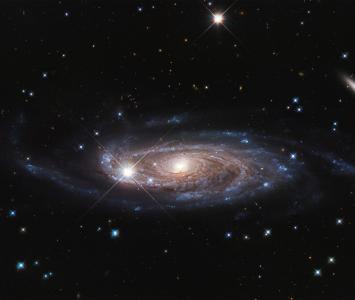 Una galaxia en el espacio