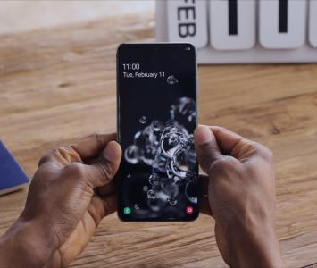 Samsung S20 ofrece una pantalla más potente