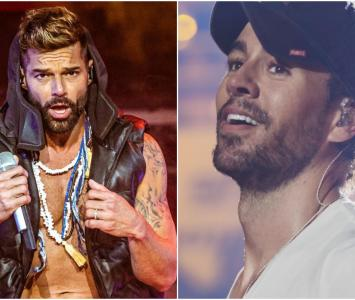 Ricky Martin y Enrique Iglesias