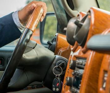 Conductor de auto
