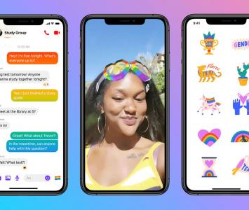 Novedades messenger Facebook para el día del orgullo LGBTI