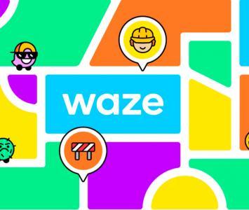 Waze se actualiza con colores y nuevos iconos