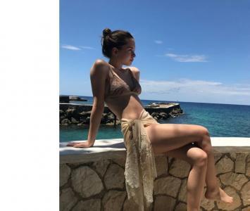 Stella del Carmen Banderas Griffith, hija de Antonio Banderas