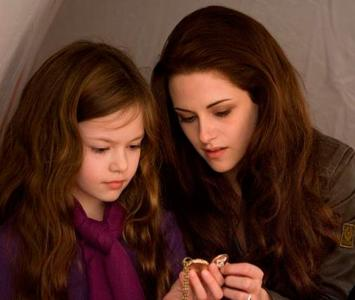 Renesmee Cullen, papel interpretado por Mackenzie Foy en 'Crepúsculo'