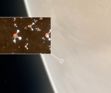 Hallan gas en Venus que da indicios de vida en el planeta