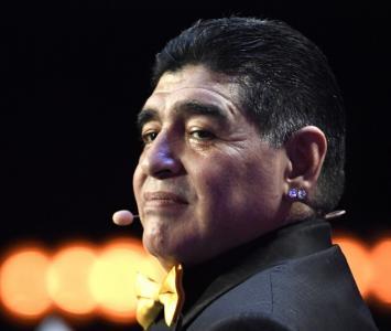 Diego Maradona, exfutbolista argentino