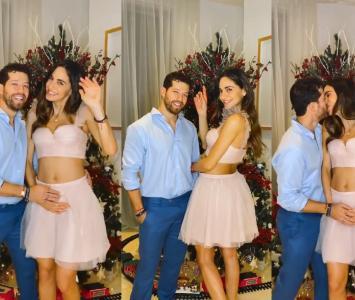 Valerie Domínguez y su novio, Juan David 'el Pollo' Echeverry