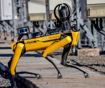Digidog, perro robot de la policía de Nueva york