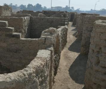 Ciudad perdida hallada en Egipto