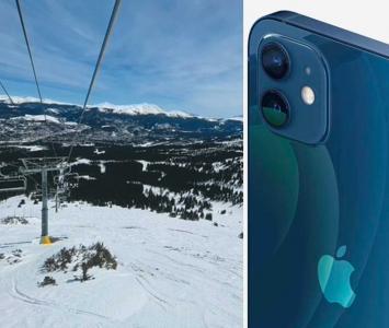iPhone 12 en zona de bajas temperaturas