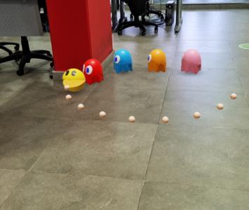 PacMan en realidad aumentada