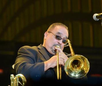 Willie Colón, músico de salsa.