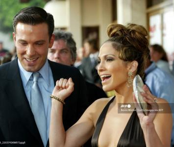 Benn Affleck y Jennifer López