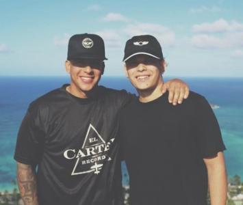 Daddy Yankee e hijo