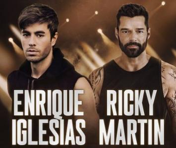 concierto de Enrique Iglesias y Ricky Martin