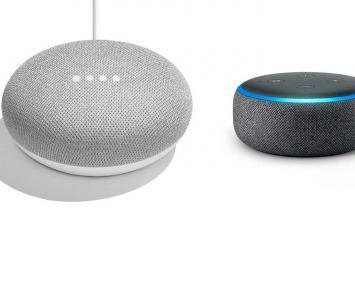 Google Home y Alexa, parlantes inteligentes