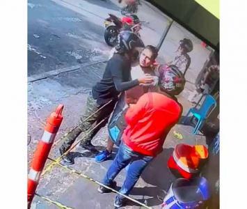 Joven víctima de robo reconoció al ladrón y se salvó